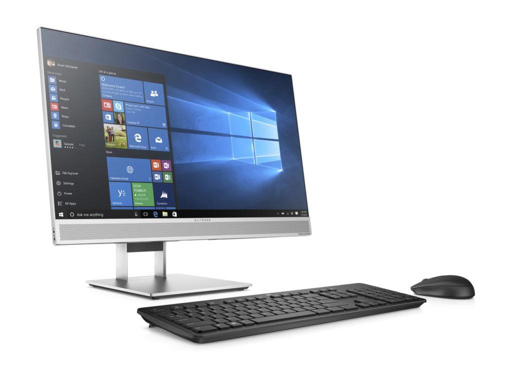 Desktop all in one computer